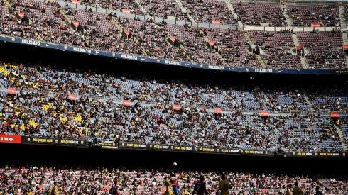 Estadio del Camp Nou.