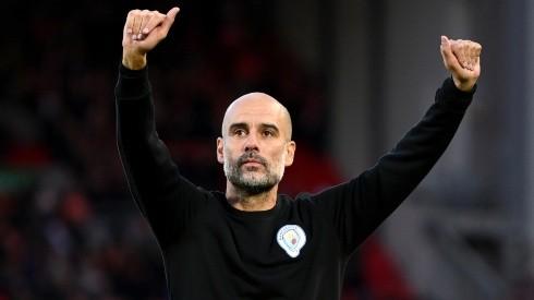 Pep Guardiola, entrenador de Manchester City.