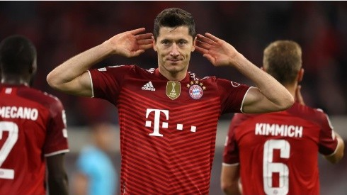 Robert Lewandowski recibe elogios de Nagelsmann y lo tranquilizan con el interés de Haaland.