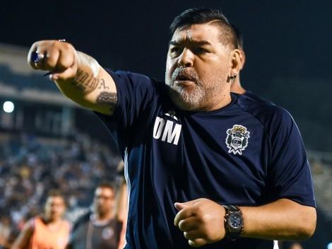 Nuevo post en la cuenta de Instagram de Diego Maradona