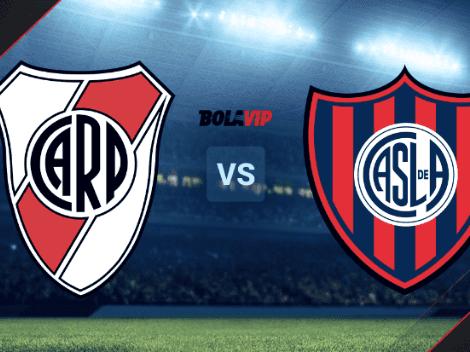 RESERVA | River Plate vs. San Lorenzo de Almagro EN VIVO por el Torneo de Reserva: hora, TV y streaming ONLINE