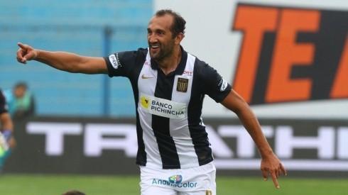 Hernán Barcos llegó a inicios de año a Alianza Lima.