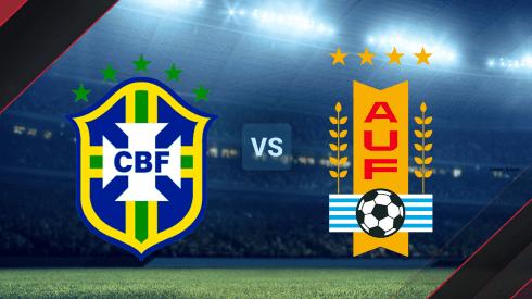 Brasil vs. Uruguay por las Eliminatorias Conmebol.