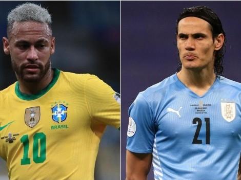 Brasil vence o Uruguai por 4 a 1 e mantém invencibilidade nas Eliminatórias