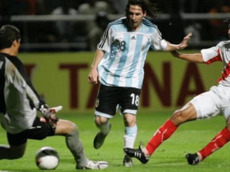 ¿Cuál fue el único gol que Lionel Messi le anotó a la Selección Peruana?