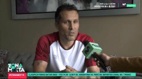 Leao Butrón declaró en Zona Mixta de Movistar Deportes.