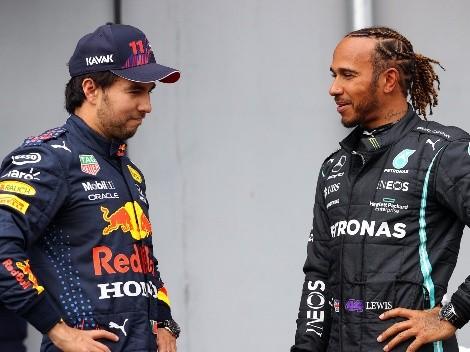 Sufre Checo: Hamilton se entrena en el simulador del GP de México