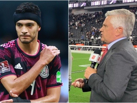 El reportero estrella de la NFL acabó al Tri y alabó a Raúl Jiménez
