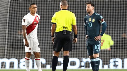 Jugador x Jugador de Perú vs. Argentina