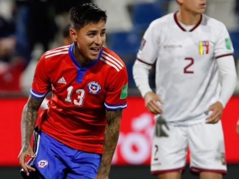 Erick Pulgar se pierde el próximo partido de Chile