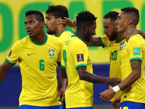 Raphinha marca duas vezes, Brasil domina o Uruguai e goleia por 4 a 1