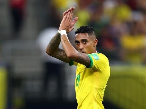 Após marcar os dois primeiros gols pelo Brasil, Raphinha se emociona: 'Inesquecível'