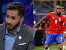 Herrera analiza la victoria de la Roja y destaca la categoría de Vidal con una anécdota