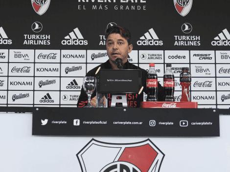 """Gallardo le alegró el día a los hinchas de River: """"Enzo Pérez está bien y va a jugar"""""""