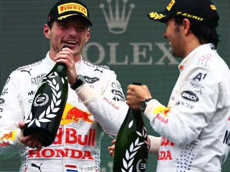 La deuda tequilera que tiene Max Verstappen según Sergio 'Checo' Pérez