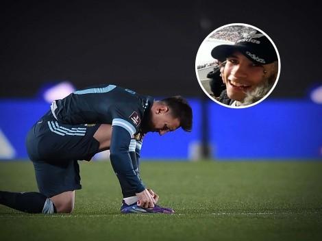 """La definición de L-Gante al ver a Messi en cancha: """"Todo se acelera"""""""
