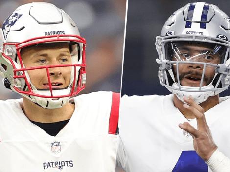 EN VIVO: New England Patriots vs. Dallas Cowboys   Pronóstico, horario, streaming y canal de TV para ver ONLINE la Semana 6 de la NFL 2021