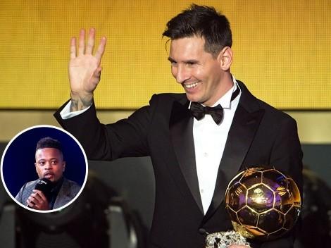 """Evra se opone al Balón de Oro de Messi: """"Estoy harto de que se lo den a él"""""""