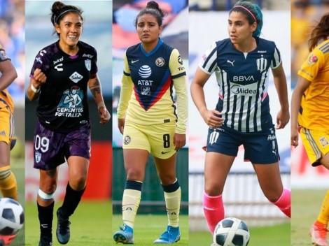 Las 5 mujeres de hierro de la Liga MX Femenil