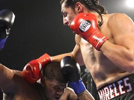 En la previa de Navarrete vs. González, impactante KO del mexicoamericano Mireles