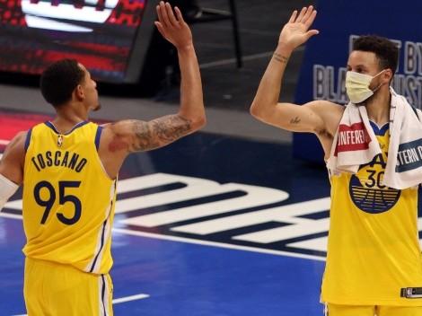 Warriors corta a cuatro jugadores antes de iniciar NBA 2021-22
