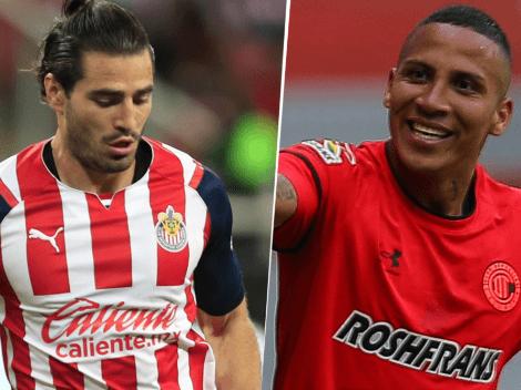 VER en USA | Chivas Guadalajara vs. Toluca: Pronóstico, fecha, hora y canal de TV para ver EN VIVO ONLINE la Fecha 13 la Liga MX 2021