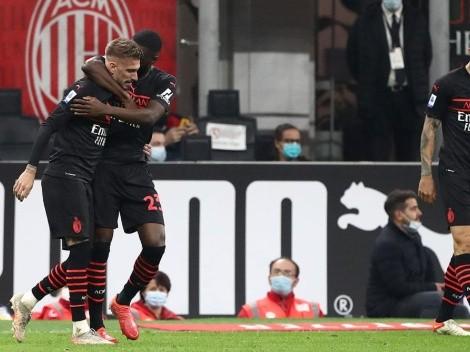 Milan sacó su poderío, remó contra la corriente y venció a Hellas Verona