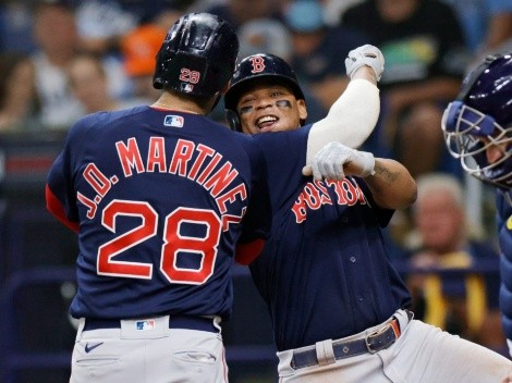Boston Red Sox desplegó su poder para nivelar la Serie de Campeonato