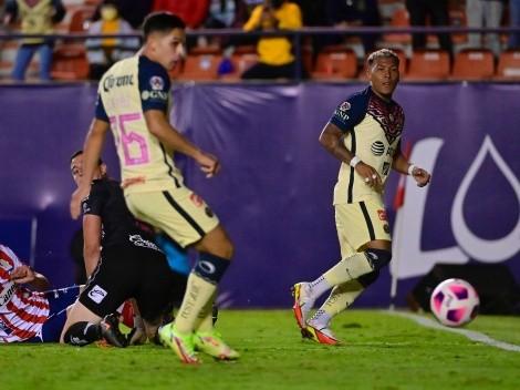 En la agonía, América se salva y vence al Atlético de San Luis