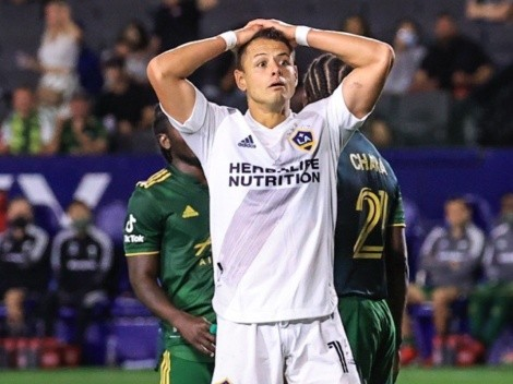 Con gol de Chicharito, LA Galaxy venció a Portland Timbers