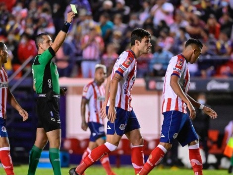 "DT de San Luis destrozó a Montaño por no ""animarse"" a cobrarle un penal en contra al América"