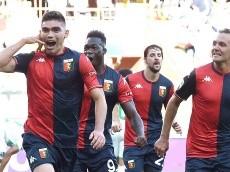 El gol de Johan Vásquez al 90 para el empate de Genoa