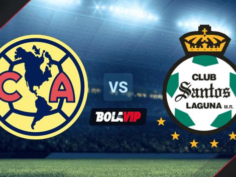 Dónde mirar América vs. Santos Laguna   Día, horario y TV para ver EN DIRECTO el choque por la Liga MX