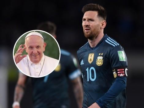 Messi y un regalo especial para el Papa Francisco