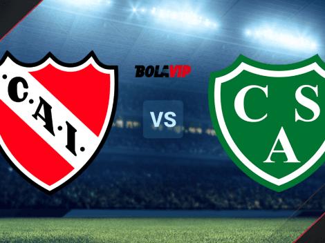 Independiente vs. Sarmiento por la Liga Profesional: horario y canal de TV para ver el partido EN VIVO y EN DIRECTO