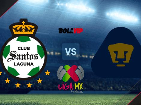 HOY   Santos Laguna vs. Pumas UNAM EN VIVO por el Torneo Grita México A21 de la Liga MX Femenil: horario y TV