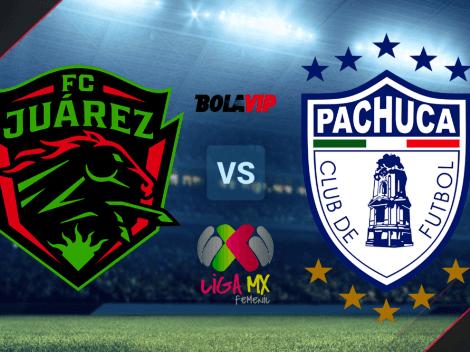HOY   Juárez vs. Tuzas de Pachuca EN VIVO por el Torneo Grita México A21 de la Liga MX Femenil: hora y canal de TV