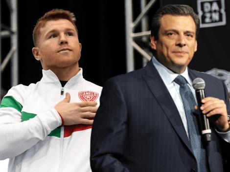"""""""A Canelo Álvarez lo critican por ser chingón"""": Mauricio Sulaimán"""