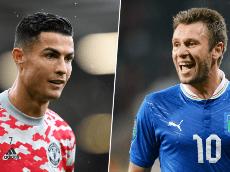Antonio Cassano eligió a los cinco mejores de la historia y excluyó a Cristiano Ronaldo