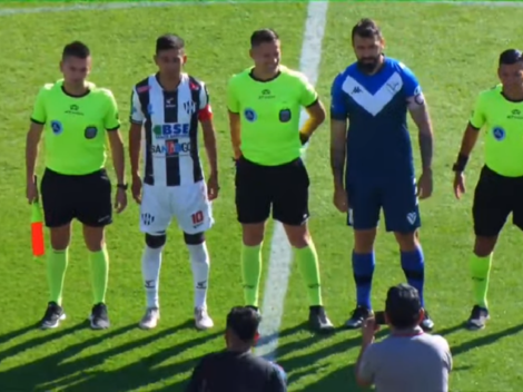 La imagen más esperada: Pratto volvió a jugar en Vélez su tras su grave lesión