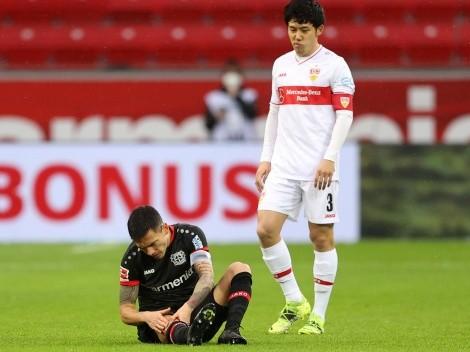 Leverkusen confirmó lesión de Aránguiz y no estará con La Roja en noviembre