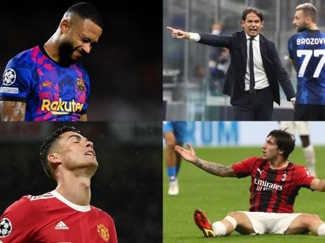 Los grandes que se juegan la vida en una nueva semana de Champions