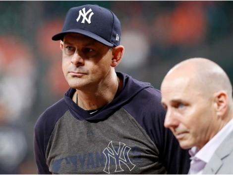 ¡OFICIAL! New York Yankees decidió el futuro de Aaron Boone