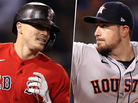 Cómo ver Boston Red Sox (2-1) vs. Houston Astros (1-2) por el Juego 4: Pronóstico, fecha, horario, streaming y canal de TV para ver los Playoffs de la MLB