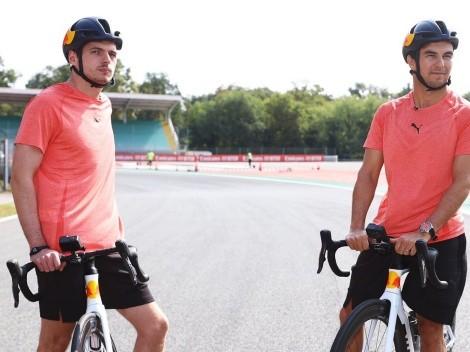 'Checo' Pérez confiesa lo duro que es ser compañero de Max Verstappen