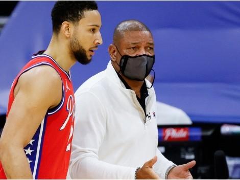 Doc Rivers echó a Ben Simmons de la práctica de 76ers y... ¡La polémica no acaba allí!