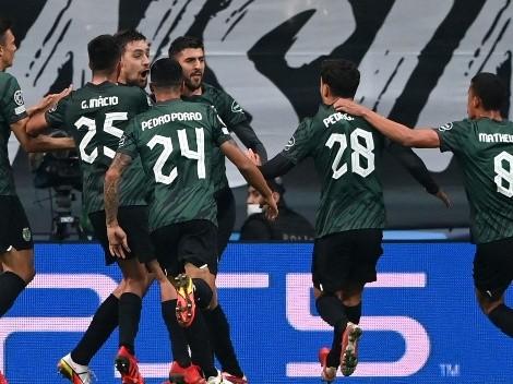 Goleada de Sporting en su visita a Besiktas