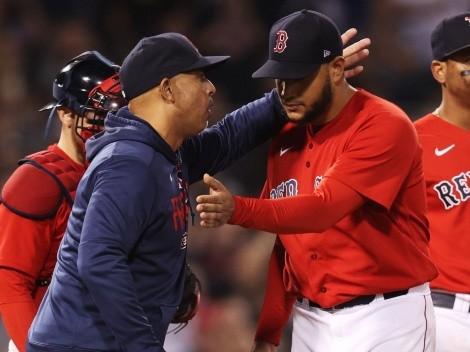 Le salió regaño: ¿Por qué le reclamó el manager de los Boston Red Sox a Eduardo Rodríguez?