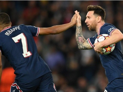 Messi y Mbappé salvan a PSG ante RB Leipzig