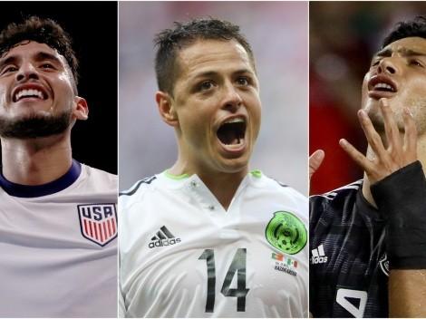 Los hinchas del Tri piden un trío que nunca se dio: Pepi, Chicharito y Jiménez